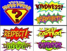 Kid of Character - Superhero Theme