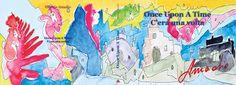 """L'arte di Vittorio Amadio: E' uscita """"Once Upon A Time"""". La prima favola di Vittorio Amadio sceneggiata da Massimo Consorti"""