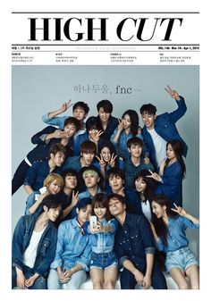 AOA, C.N Blue, FT.Island and N.Flying❤
