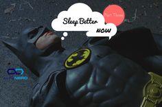 Batman Sleeping