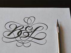 B l monogram ii