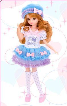LD-15 シャーベットリボン|商品カタログ|商品情報|リカちゃん|タカラトミー Doll Japan, Japanese Toys, Poppy Parker, Dress Up Dolls, Cute Dolls, Doll Face, Sanrio, Doll Toys, Aries