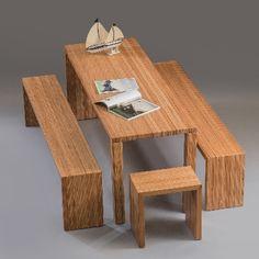 BauBuche di Pollmeier – Panca e tavolo pranzo