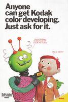 Kodak Picture Developing 1971 Ad Picture