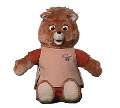 Teddy Ruxpin was the best! Cept I poked one of his eyes out which looked scary, so mum put a pirate patch on one side. You put a cassette in his back and he would read stories to you.. his mouth moved and eyes blinked!