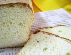 How to Make Gluten Free Bread with Olive Oil. Have you ever thought of making gluten-free bread with olive oil? Crepes Sin Gluten, Dessert Sans Gluten, Gluten Free Desserts, Gluten Free Recipes, Bread Machine Recipes, Bread Recipes, Cooking Recipes, Sem Gluten Sem Lactose, Celiac Recipes