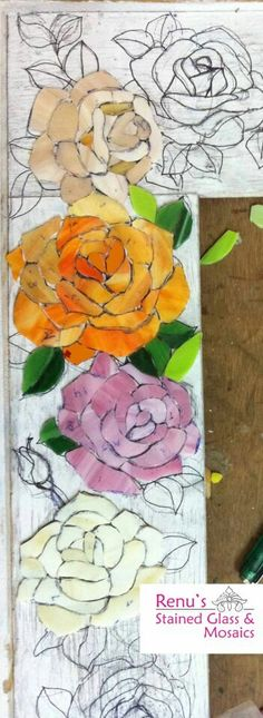 Wide rose trim