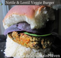... and Wraps on Pinterest | Veggie burgers, Portobello and Burgers