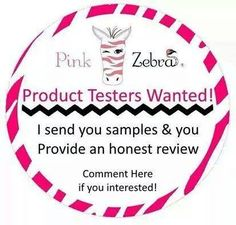Want FREE Pink Zebra Sprinkles? I'm looking for product testers to use and display my products in their home, office or at their business in exchange to write a brief review on my website!. Message me for details!