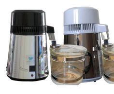 Limpieza de un destilador de agua