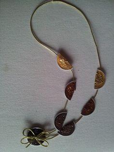 Collar dorados lazo 4,99€
