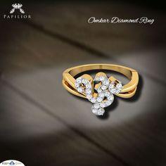 """The promise of wealth and blessings. "" #diamond #ring  #diamondring #goldring #diamondjewelery #onlineshopping"