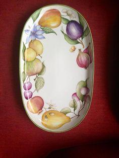 Porcelana frutas