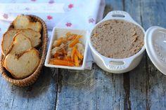 Paté de perdiz con su escabeche Mousse, Cornbread, Muffin, Pudding, Breakfast, Ethnic Recipes, Desserts, Food, Ideas