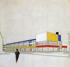 Theo Van Doesburg & Cor Van Eesteren, 1924.    Reflects my interests in the use of color and space. And how space can influence interactions between people and between people and their surroundings.