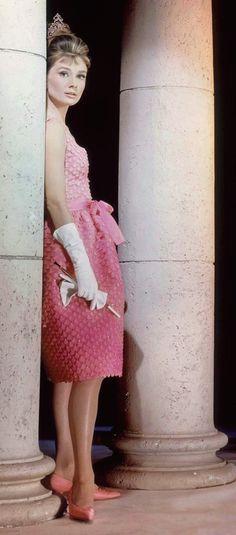Audrey Hepburn (wearing Givenchy) - Breakfast at Tiffany's (1961)