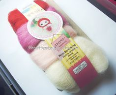 Wool for needle Felting https://www.etsy.com/sg-en/listing/247906418/wool-only-strawberry-series-red-pink