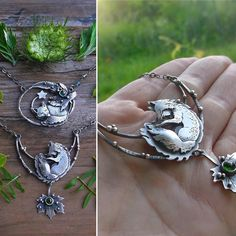 Hi! Our names are Mag and Gregory and we are fox addicts :P this is last one ;) but it is so much fun to add them all the teeny tiny details! Available at www.lilyblonde.com #fox #foxtotem #foxjewelry #sleepingfox #instasmithy #silversmith #photooftheday #like4like #jewelry #necklace #nature #boho #gypsy