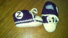 Crocheteando con Imaginación: Zapatillas para bebe