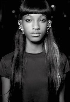 Willow Smith, V Magazine Karl Lagerfeld