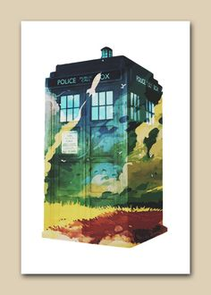 that-one-fandom-girl: Tardis We're going to spin through the stars
