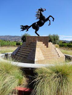 Bodega Black Stallion Winery, Napa Valley, California
