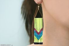 Chevron Earrings