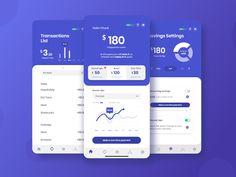 Chipper Student Loan App case study + Free UI kit by Milton Solis Web Design, App Ui Design, Interface Design, Dashboard Design, User Interface, Dashboard Ui, Flat Design, Financial Apps, Ui Design Mobile