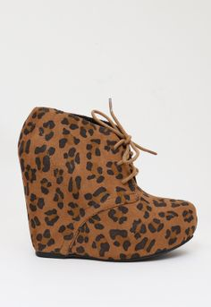 Purfection Print Bootie