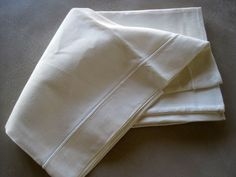 Vintage French Superb Bolster Cover Unused Metis Linen Taie de Traversin 78 by Inches Bed Linen, Linen Bedding, Bolster Covers, French Bed, French Vintage, Beautiful, Antiques, Bed Linens, Linen Sheets