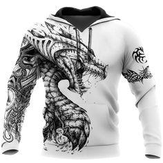 Dragon Hoodie, Streetwear, Cheap Hoodies, Dungeons And Dragons, Unisex, Hooded Sweatshirts, Mens Fashion, Boy Fashion, Pullover