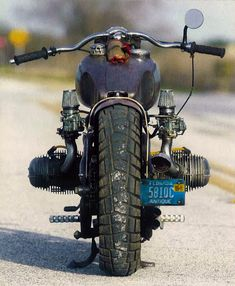time to fly!! - BMW bobber