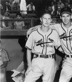 Red Schoendest and Marty Marion