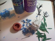 I started my self-imposed challenge to make one plant each week from A - Z.  My first plant is A for  Agapanthus .     These are some of t...