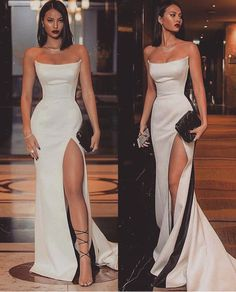 Special occasions long white dress, Shop plus-sized prom dresses for curvy figures and plus-size party dresses. Ball gowns for prom in plus sizes and short plus-sized prom dresses for Prom Outfits, Mode Outfits, Graduation Outfits, Club Outfits, Dress Outfits, Pretty Dresses, Beautiful Dresses, Long Elegant Dresses, Classy Prom Dresses