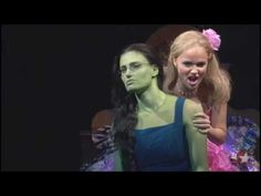 """Wicked - Popular """"Don't be offended by my frank analysis- think of it as personality dialysis."""" Kristin and Idina Theatre Geek, Music Theater, Leona Lewis, Wicked Musical, Defying Gravity, Originals Cast, Popular Music, Music Videos, Musicals"""