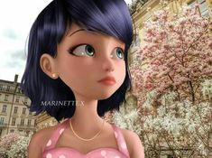 she looks soooo kute! Ladybug E Catnoir, Ladybug Und Cat Noir, Ladybug Comics, Lady Bug, Miraculous Ladybug Party, Miraculous Ladybug Wallpaper, Miraculous Characters, Loli Kawaii, Marinette Dupain Cheng