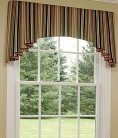 Valances For Windows | Jabot, Window Swags, Curtains For Bay Windows    Country Curtains