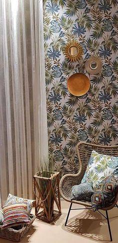 Ötvenedik, jubileumi Heimtextil 2020. Wicker, Living Room, Chair, Furniture, Design, Home Decor, Decoration Home, Room Decor