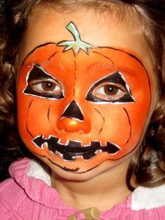 Pumpkin Face Painting for Children: Tutorials, Tips and Designs