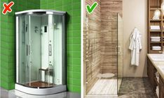 14 Popular Interior Design Ideas That Turned Out to Be Completely Useless - Info Ideal Tall Cabinet Storage, Locker Storage, Home Goods Decor, Home Decor, Large Shower, Decorate Your Room, Colorful Furniture, Glass Table, Open Shelving