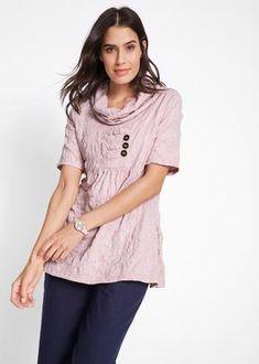 tunika* triko* — bonprix.si Smock Dress, Smocking, V Neck, T Shirts For Women, Tops, Dresses, Fashion, Tunic, Vestidos