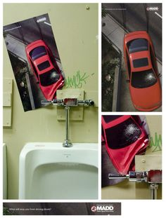 Creative MADD advertisement: What will stop you from driving drunk?
