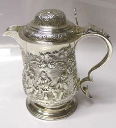 Antique Silver Tankard by Hester Bateman 1782 Stock ID 6668 | eBay
