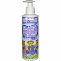 Healthy Times Baby's Herbal Garden Baby Lotion Sweet Violet - 8 fl oz Healthy Times Baby's Herbal G by Healthy Times. $22.50. This product may be prohibited inbound shipment to your destination.. Picture may wrongfully represent. Please read title and description thoroughly.. Please refer to SKU# ATR26142904 when you inquire.. Brand Name: Healthy Times Mfg#: 0247288. Shipping Weight: 0.67 lbs. . Healthy Times Baby's Herbal Garden Baby Lotion Sweet Violet .Description:. . Mad...