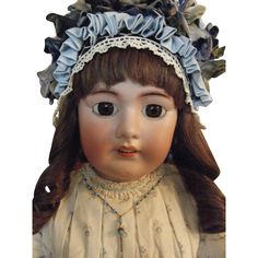"Giant 32"" Tete Jumeau Doll  Absolutelyl Beautiful"