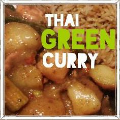 thai green curry, Gluten Free, Dairy Free, MS, Multiple Sclerosis diet