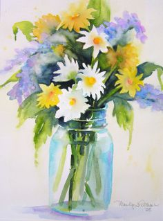 Watercolors By Marilyn Lebhar