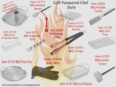 I Love Pampered Chef Grilling Tools!  Get yours today at www.pamperedchef.biz/cookingwithmeredith