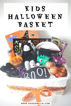 Thinking Of Doing A Halloween Basket For Your Little Ones This Year Check Out Ours